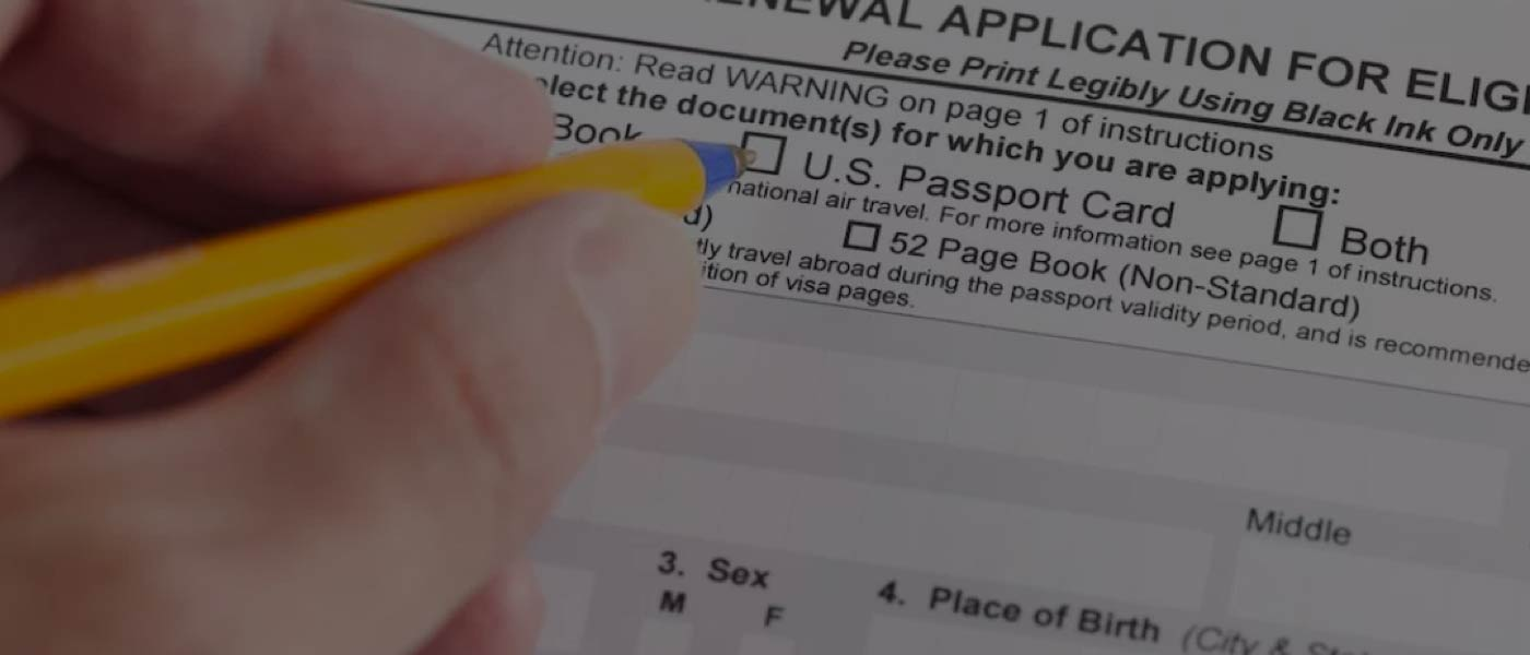 Where to Find Passport Forms