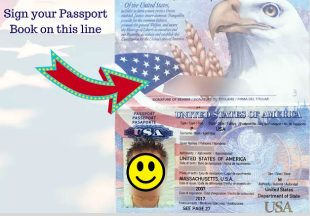 How to Sign a Passport Book